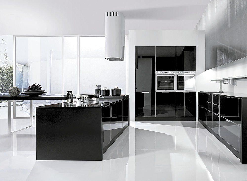 Cocinas En Blanco Y Negro Una Tendencia Para 2019