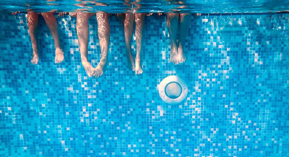 Mosaicos azulejos piscina