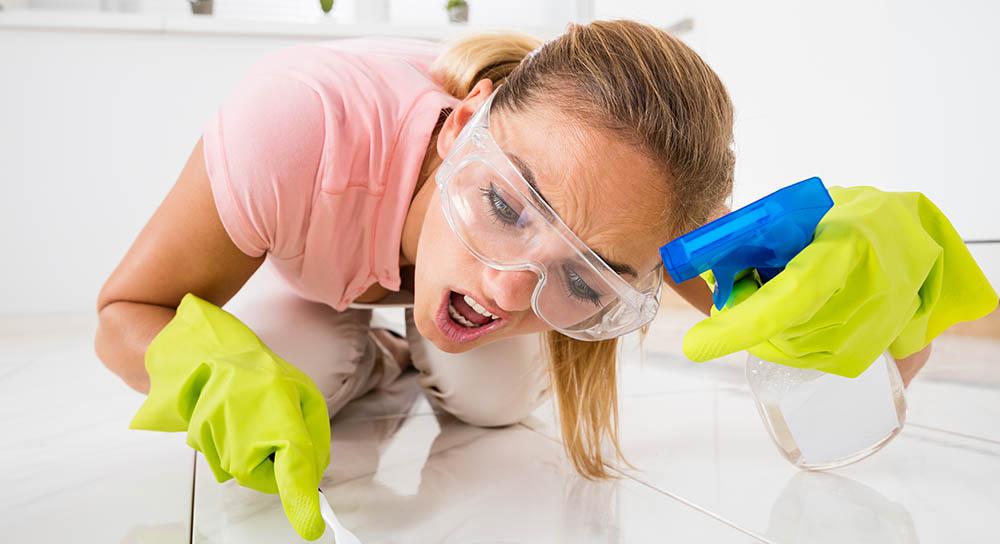 Limpieza azulejos baño y cocina